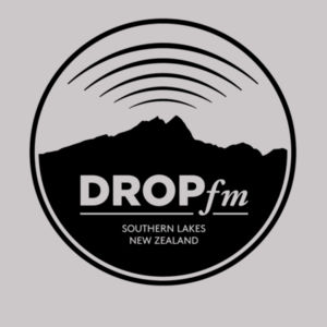 Drop FM Original - White - Womens Premium Crew Design